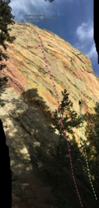 Maiden boulder flatirons eastern seas